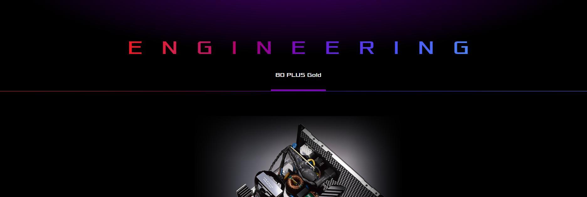 Nguồn Asus ROG Strix 650W Gold - 650W 80 Plus Gold Full Modular giới thiệu 4
