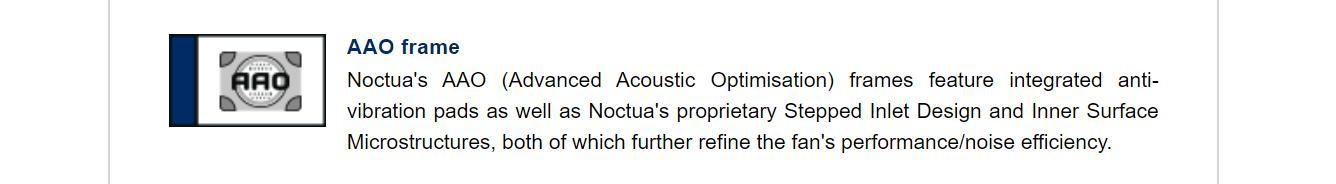 Khung Fan Case NOCTUA NF-A12x15 Black -Slim fan  tích hợp các miếng dán chống rung, ngoài ra với thiết kế gom gió vào và hướng gió ra sẽ tập trung luồng khí cho linh kiện của bạn.