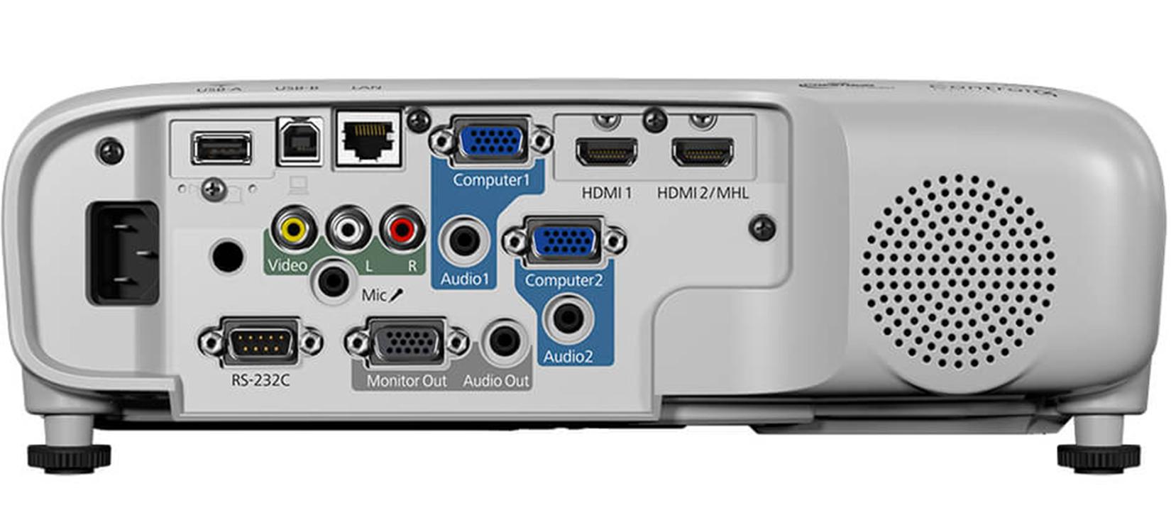 Cổng kết nối Máy Chiếu Epson EB 980W
