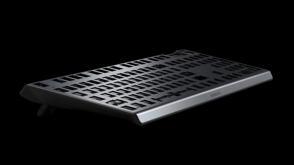 Bàn phím cơ Steelseries Apex 7 TKL Mechanical Blue Switch US (64758) có khung kim loại bền bỉ
