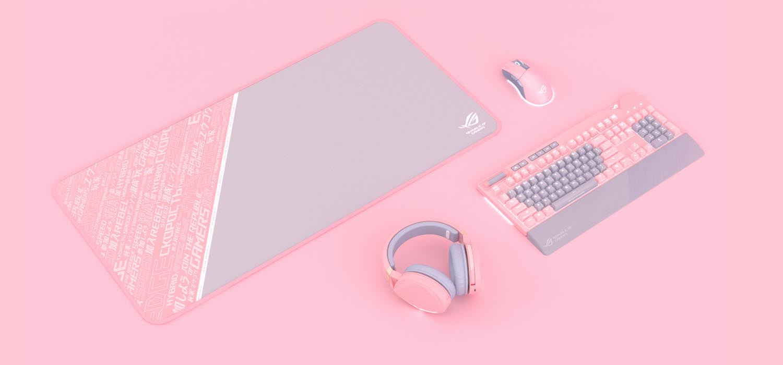 Giới thiệu Bàn phím cơ Asus ROG Strix Flare Pink (XA01)