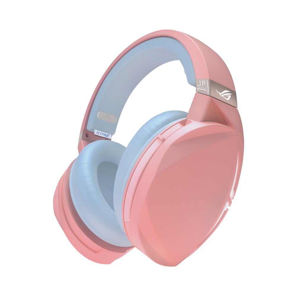 Tai nghe ASUS ROG Strix Fusion 300 Pink có thiết kế cá tính