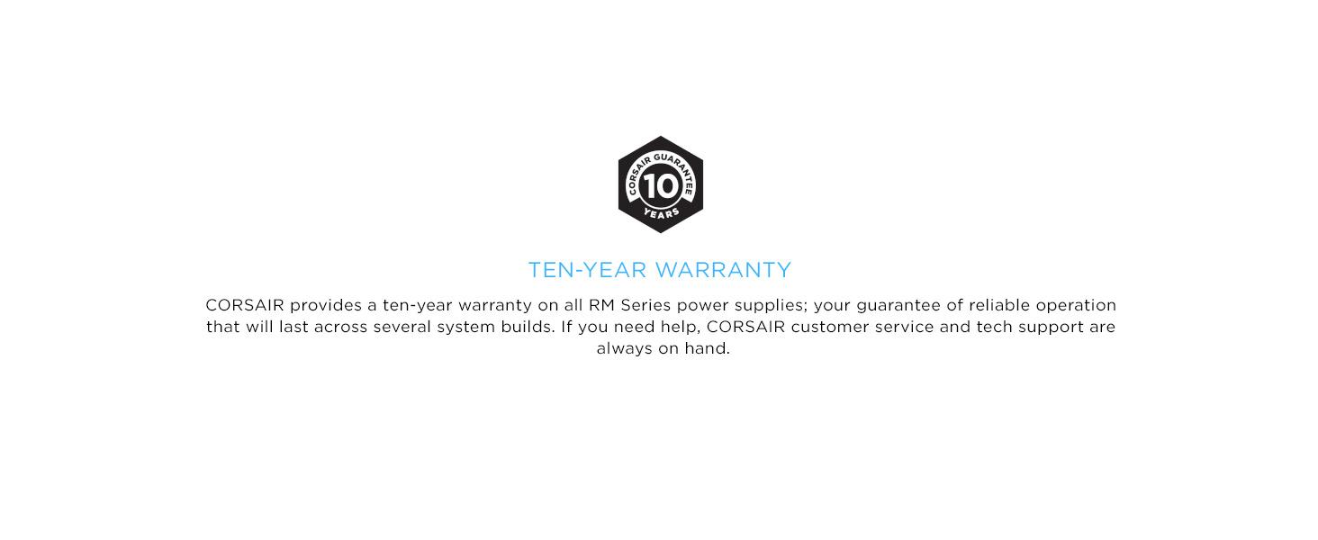 Nguồn Corsair RM Series RM750 - 750W (80 Plus Gold Certified Full Modular/Màu Đen) 10 năm bảo hành