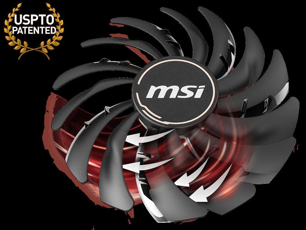 Card màn hình MSI Radeon RX 5700 MECH OC