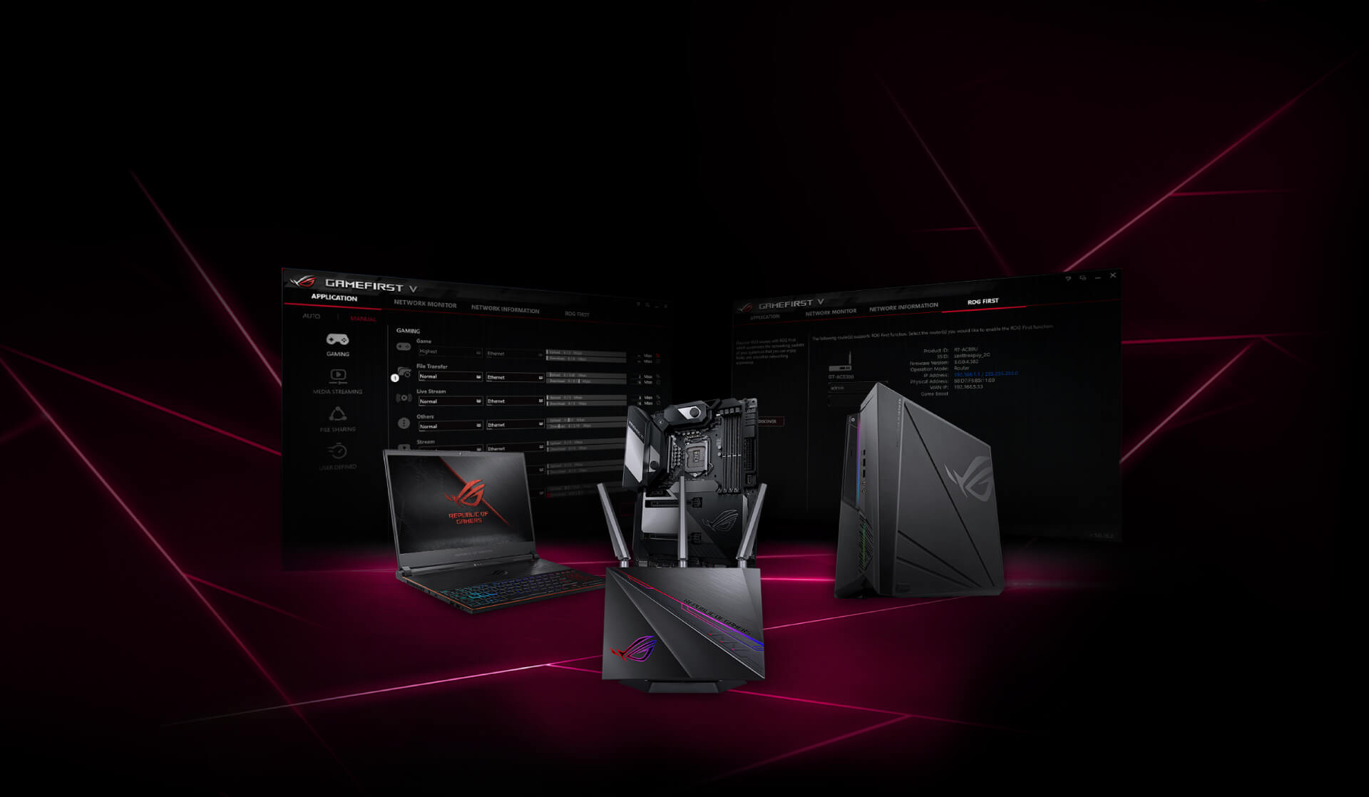 Router wifi Gaming ASUS ROG Rapture GT-AC2900