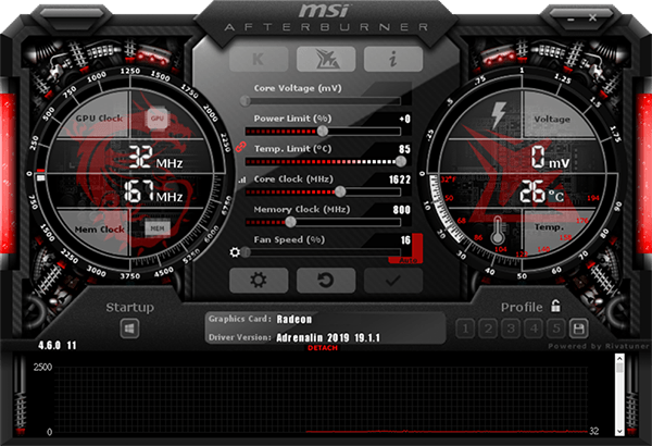 Card màn hình MSI Radeon RX 5700 XT EVOKE OC