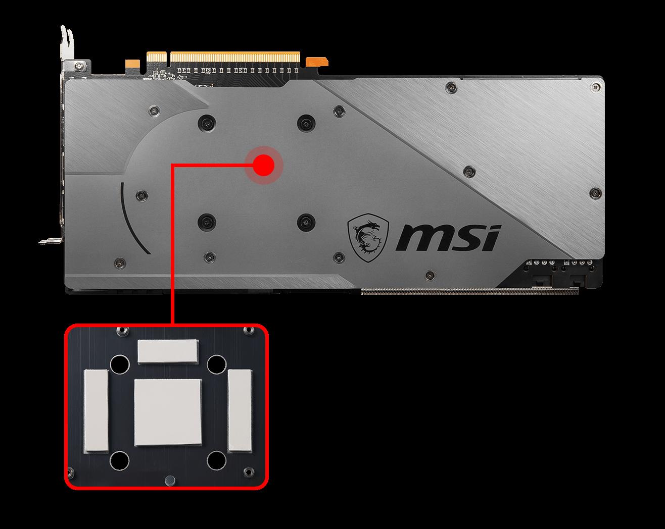 Card màn hình MSI Radeon RX 5700 XT GAMING X