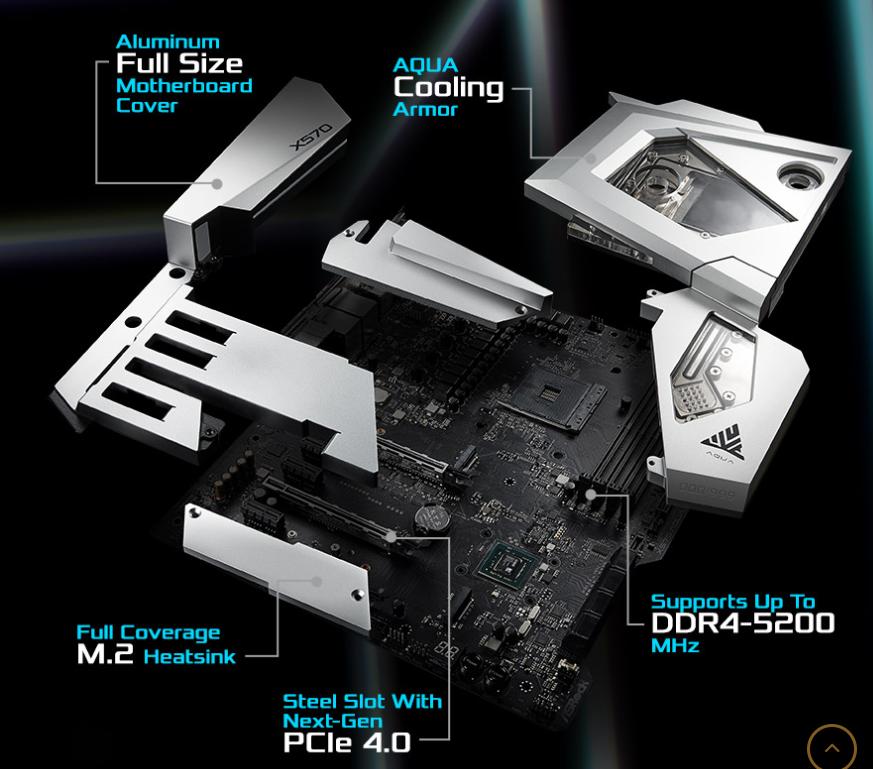 Mainboard ASROCK X570 Aqua