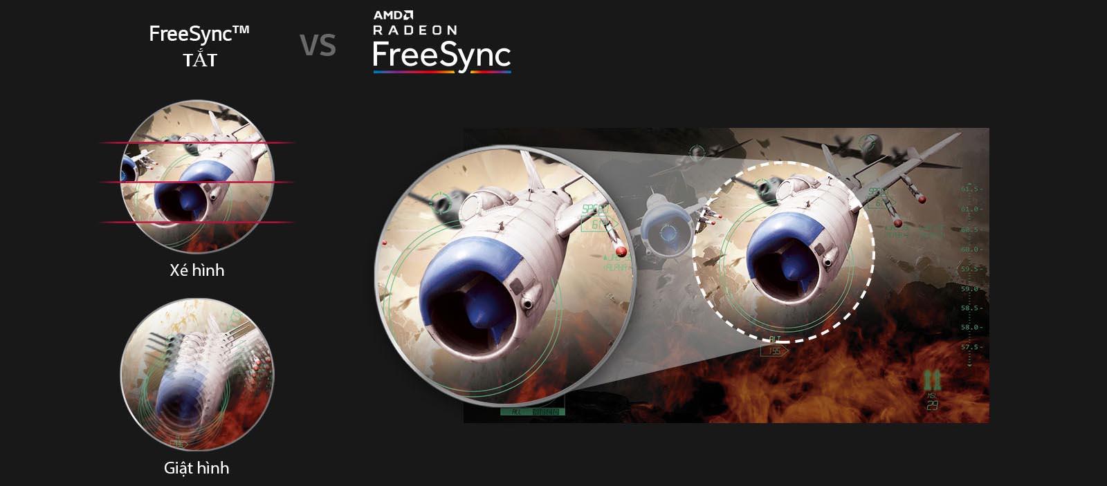 Màn hình LG 27GL650F-B free sync