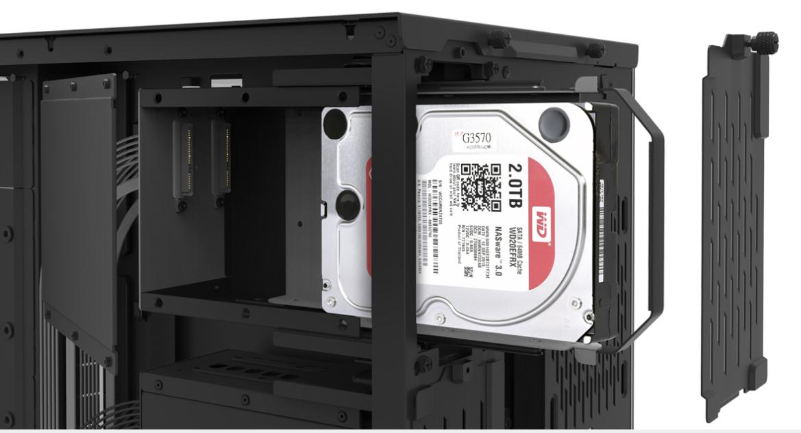 Vỏ case Lian Li O11 Dynamic XL ROG Black màu đen