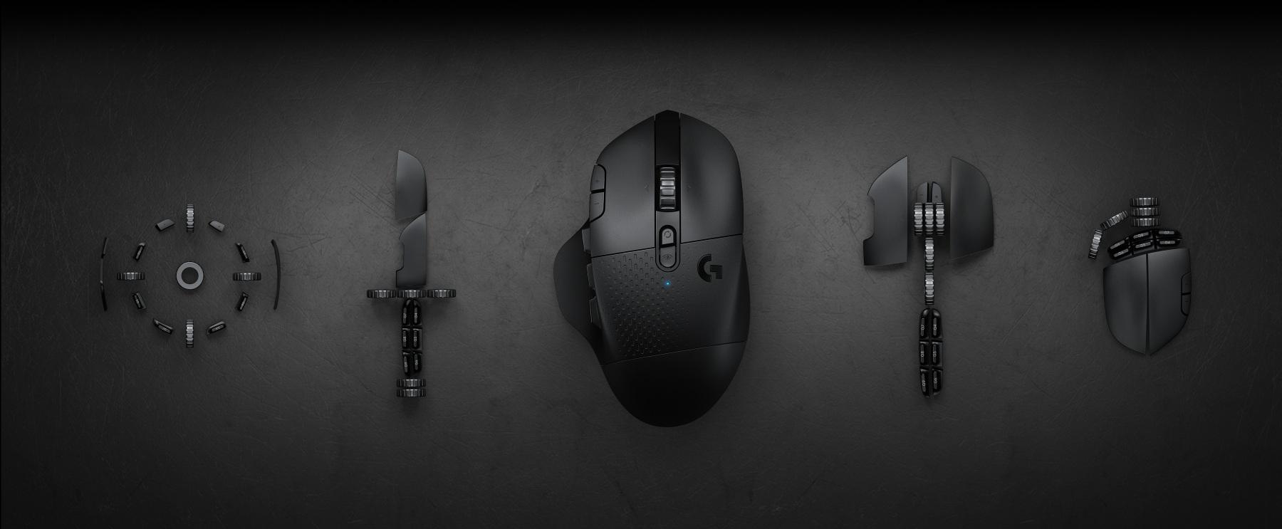 Giới thiệu Chuột chơi game Logitech G604 Lightspeed Wireless HERO Gaming Black