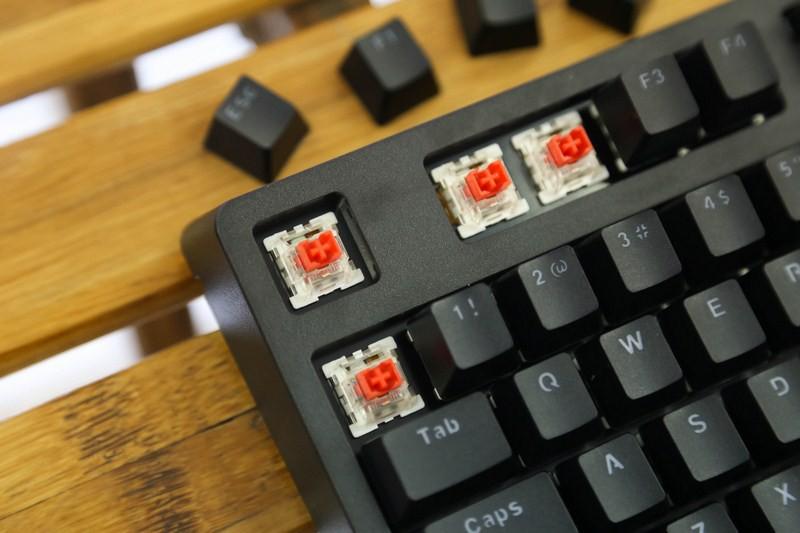 Bàn phím cơ E-Dra EK387 Mechanical Gaming Outemu Blue switch led RGB sử dụng switch outemu siêu bền