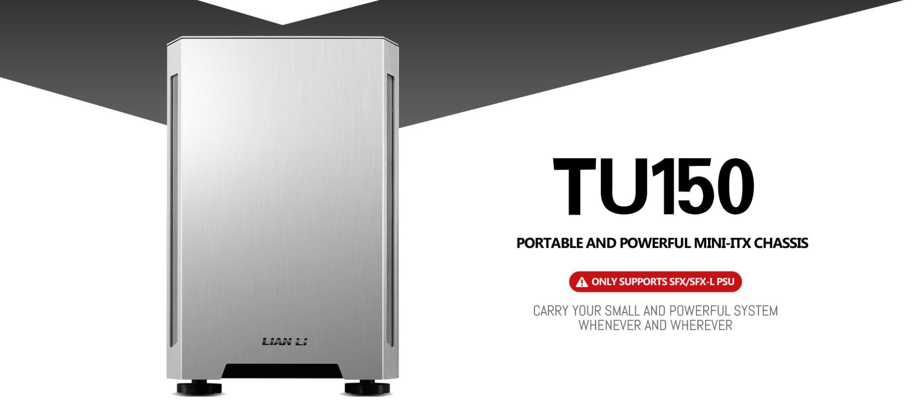Case Lianli TU150 ((Mini Tower/Màu Bạc) giới thiệu