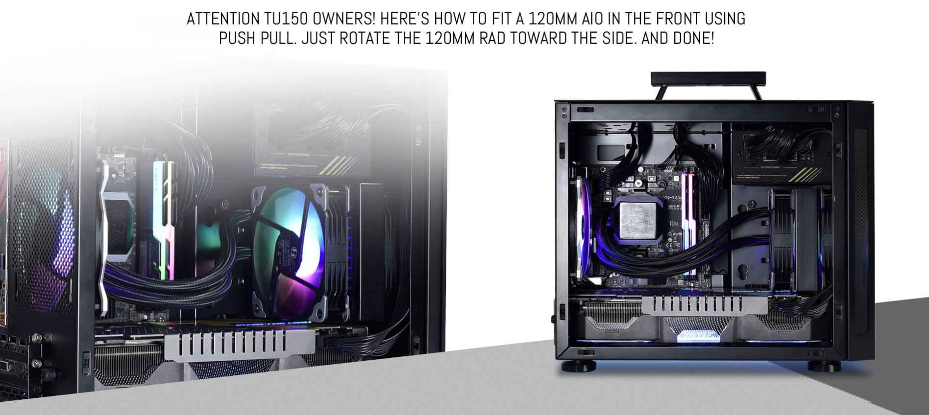 Case Lianli TU150 ((Mini Tower/Màu Bạc) giới thiệu 3
