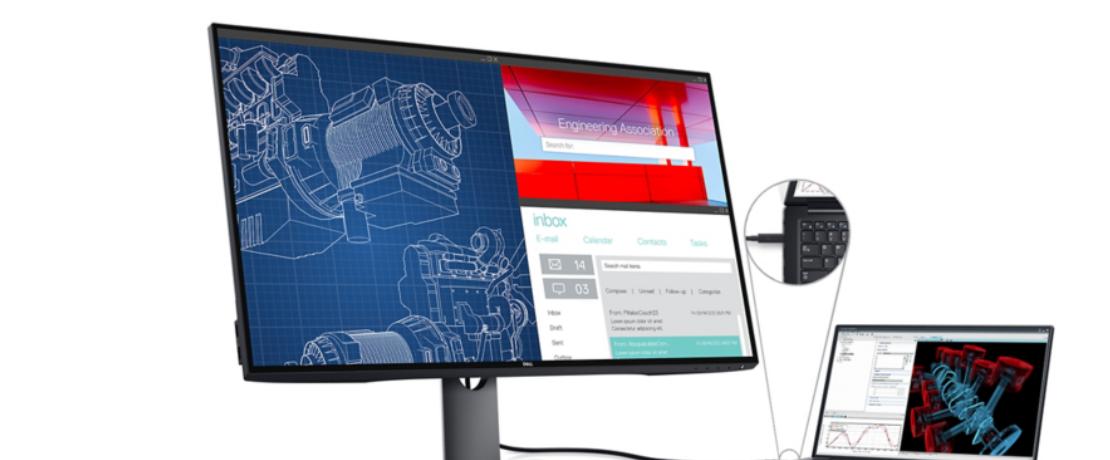 Màn hình Dell UltraSharp U3219Q chi tiết