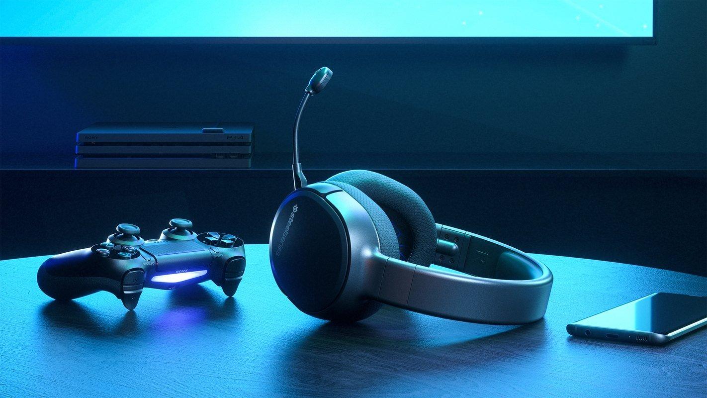 Tai nghe không dây Steelseries Arctis 1 61512 sử dụng dễ dàng với thiết bị console