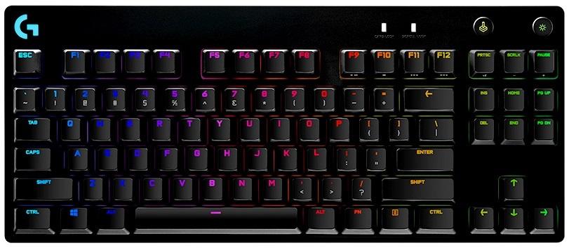 Bàn phím cơ Logitech G Pro X RGB Lightsync GX Clicky Blue Switch