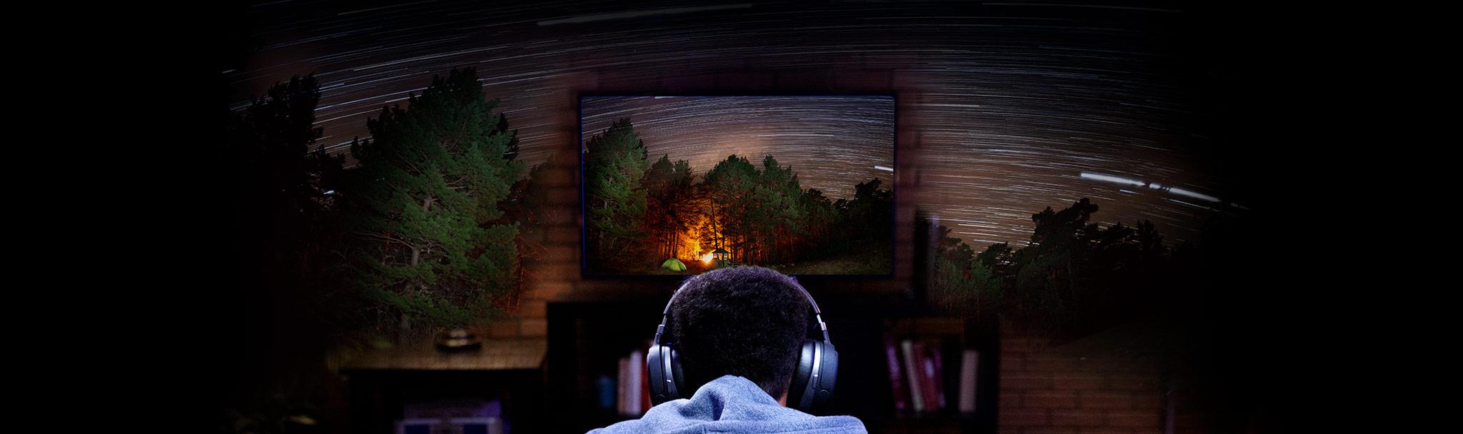 Tai nghe Kingston HyperX Cloud Orbit S Gaming Black (HX-HSCOS-GM/WW) trang bị công nghệ âm thanh 3D cao cấp