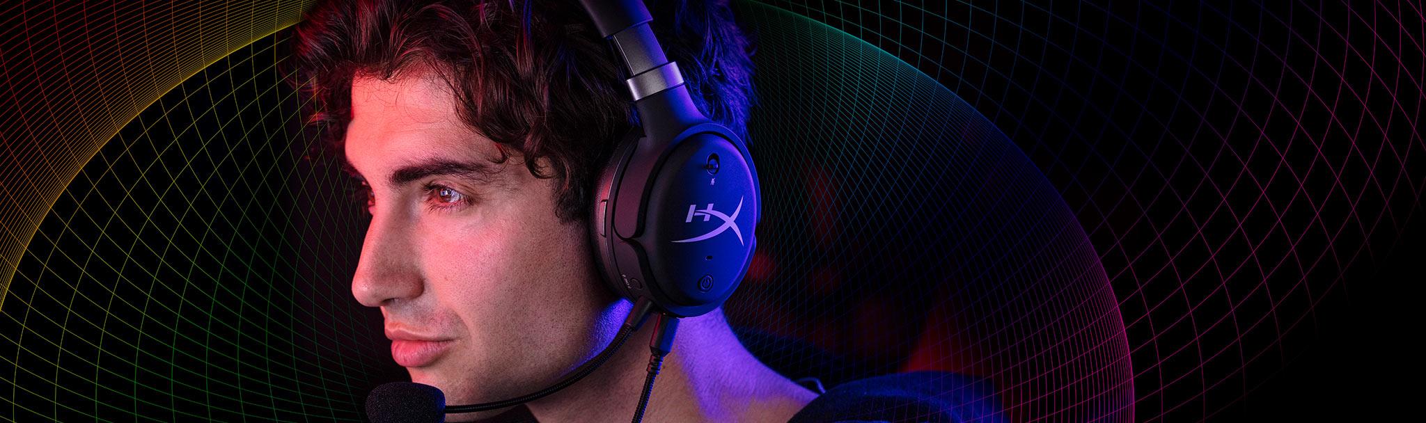 Tai nghe Kingston HyperX Cloud Orbit S Gaming Black (HX-HSCOS-GM/WW) có thiết kế màng loa cao cấp