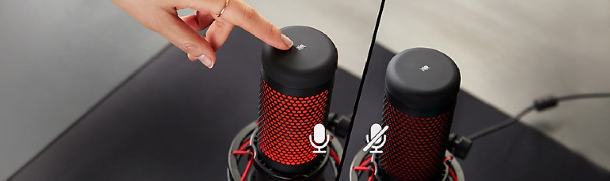 Microphone Kingston HyperX Quadcast Gaming Black Red 3