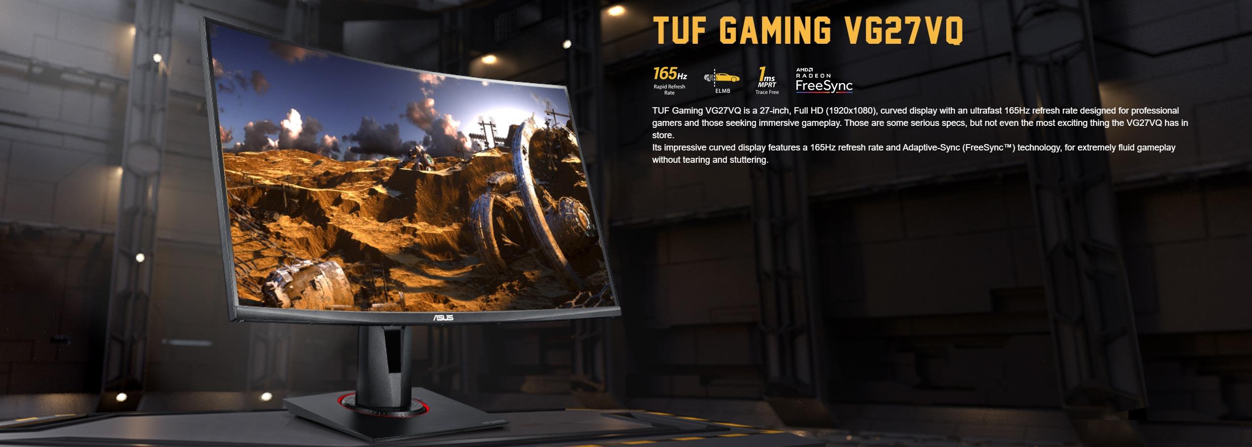 Màn hình ASUS TUF Gaming VG27VQ 165hz
