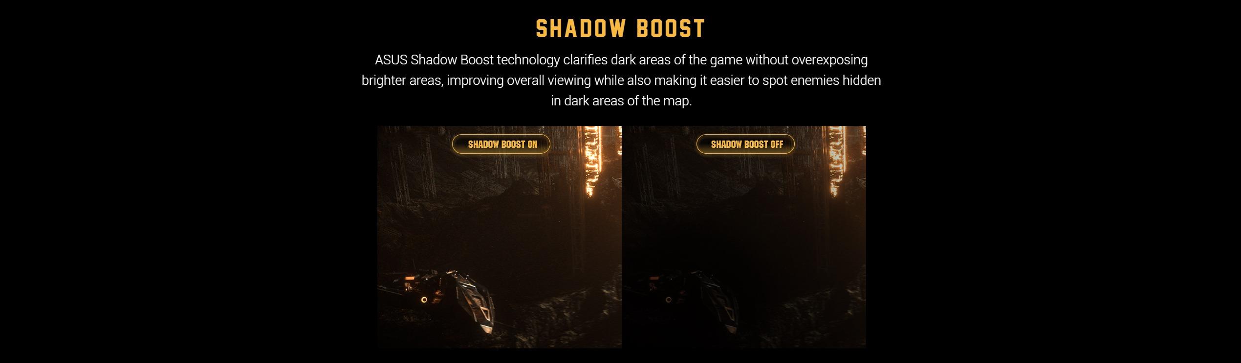 Màn hình ASUS TUF Gaming VG27VQ nâng vùng tối