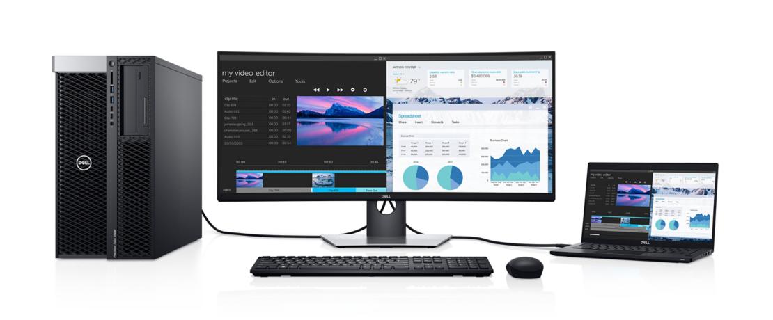 Màn hình Dell UltraSharp U3419W nâng cao hiệu suất