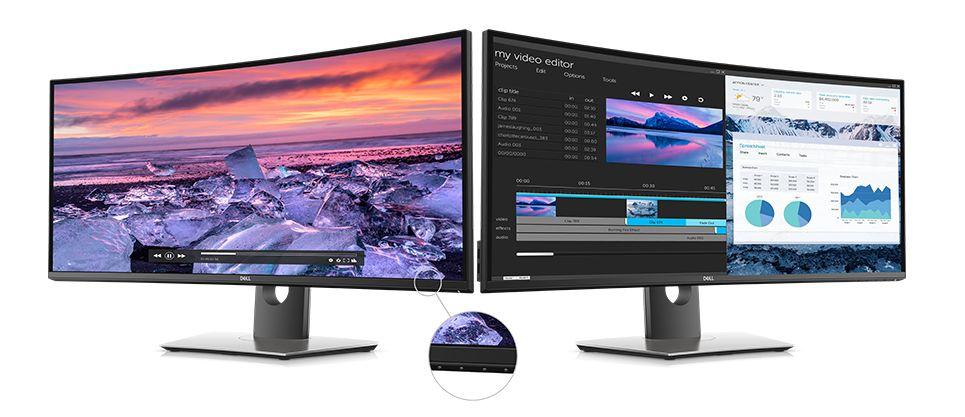 Màn hình Dell UltraSharp U3419W màn hình sắc nét