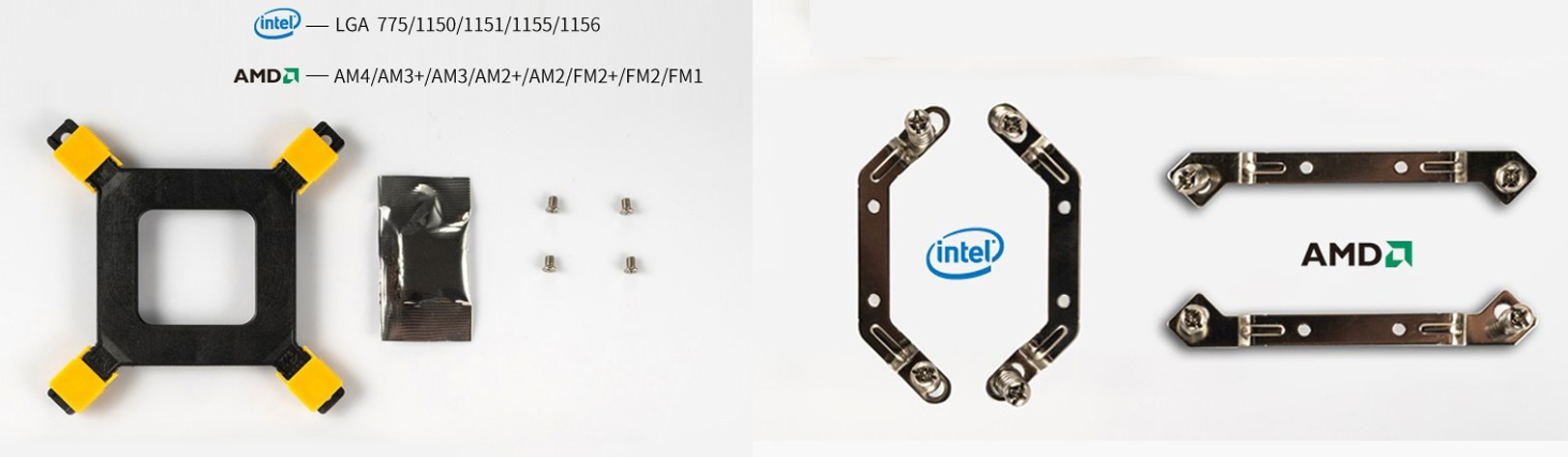 Tản nhiệt khí Jonsbo CR-1000 RGB trang bị ngàm gắn tản nhiệtbằng hợp kim cao cấp được sử dụng để tránh hiện tượng gãy của ốc vít nhựa, giảm uốn cong bo mạch chủ, cải thiện tuổi thọ của phần cứng và giảm rủi ro vận chuyển