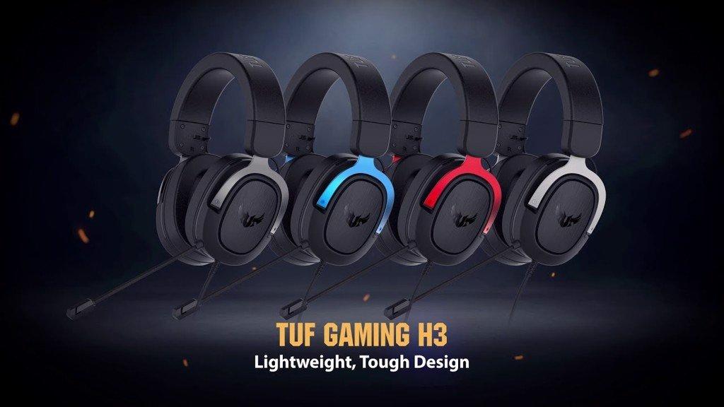 Giới thiệu Tai nghe TUF GAMING H3 Gun Metal