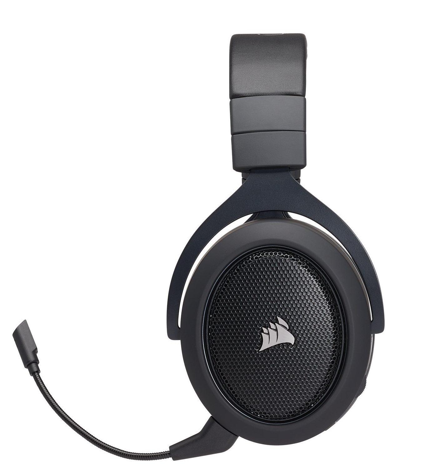 Tai nghe Gaming Corsair HS60 Surround 7.1 Yellow có thiết kế chắc chắn, gọn gàng