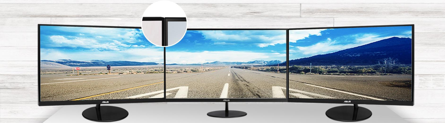 Màn hình ASUS VL279HE hoàn hảo cho thiết lập đa màn hình