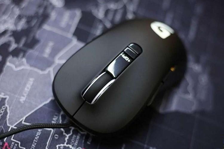 Chuột Fuhlen Nine Series G19S Gaming Black USB sử dụng mắt cảm biến chất lượng cao