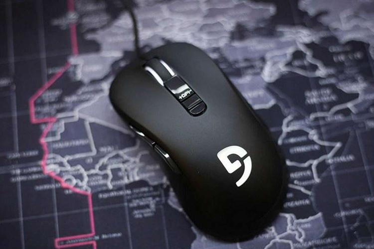 Chuột Fuhlen Nine Series G19S Gaming Black USB  tích hợp dải led ấn tượng