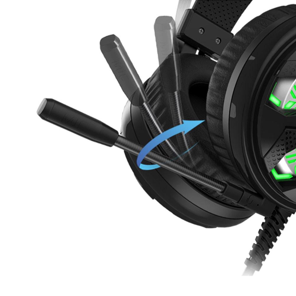 Tai nghe Zidli ZH-7 7.1 LED 7 màu USB trang bị micro đa hướng