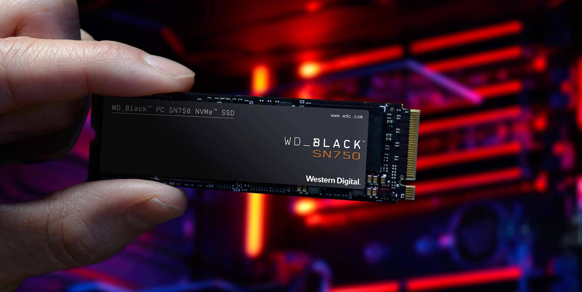 Ổ cứng SSD WD SN750 Black 250GB M.2 2280 PCIe NVMe 3x4 WDS250G3X0C