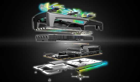 Card màn hình SAPPHIRE NITRO+ RX 5700 XT SE
