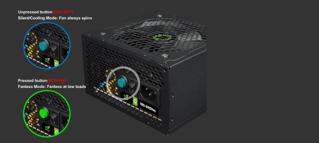Nguồn GAMEMAX VP600 - 600W (80 Plus/Màu Đen) giới thiệu 3