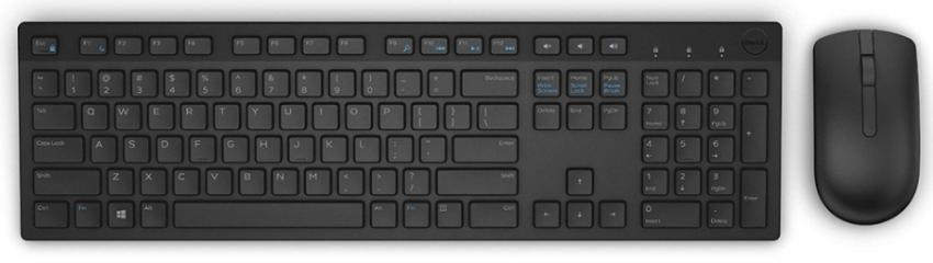Giới thiệu Bộ Bàn Phím Chuột không dây Dell KM636 Màu Đen (42KM636)