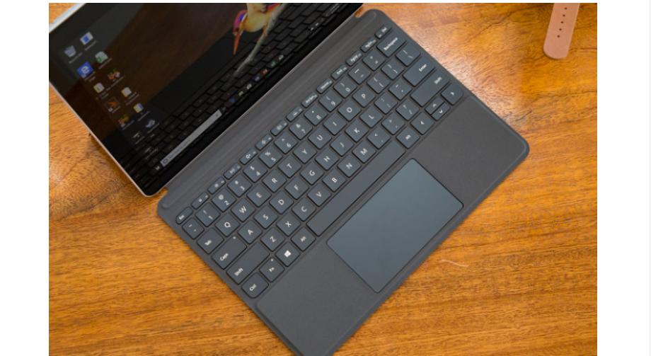 Bàn phím Mircosoft Surface Go có thiết kế gọn nhẹ, thông minh