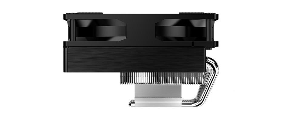 Ống dẫn nhiệt của Tản nhiệt khí Jonsbo CR-701 được thiết kế với hình dạng đặc biệt để có thể không vướng vào các thành phần linh kiện khác trên mainboard.