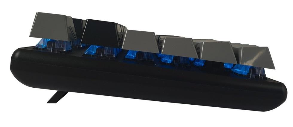 Bàn phím cơ BJX KM9 Fullsize Mechanical Blue Switch Led USB có hệ thống led tích hợp