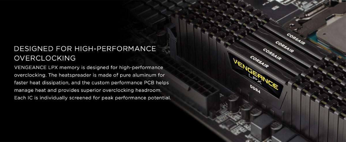 RAM Desktop CORSAIR Vengeance LPX