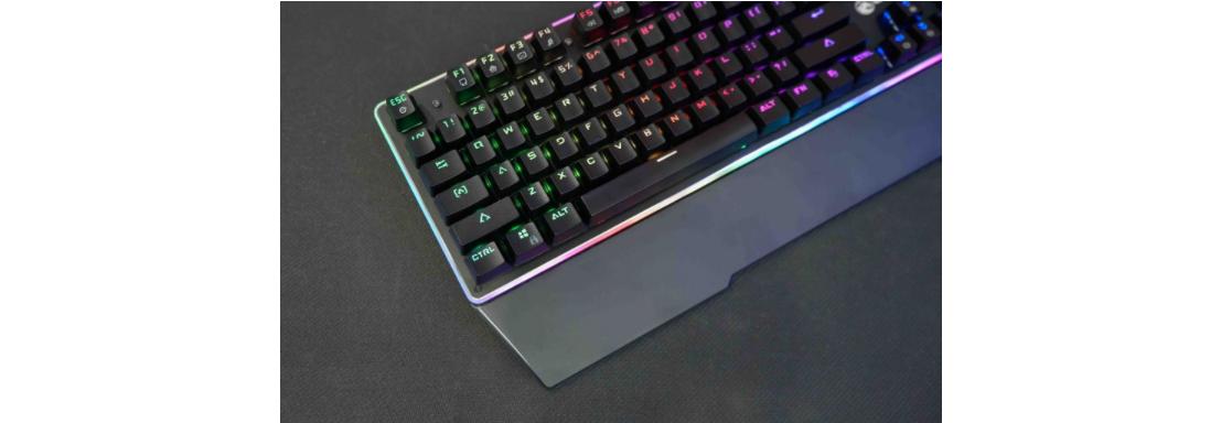 Bàn phím cơ E-Dra EK308 RGB Optical Switch USB trang bị keycap abs doubleshot siêu bền