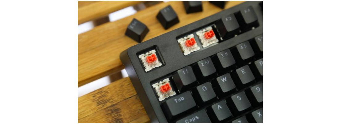 Bàn phím cơ E-Dra EK387 Pro Mechanical Gaming Outemu Blue switch Black Gray USB  sử dụng switch outemu chất lượng cao