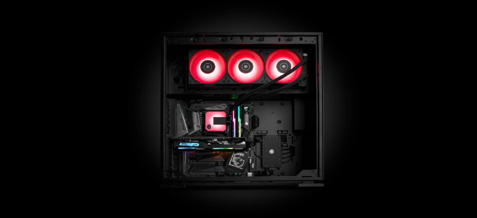 Hình ảnh của Tản nhiệt nước EK-AIO 360 D-RGB thực tế 01