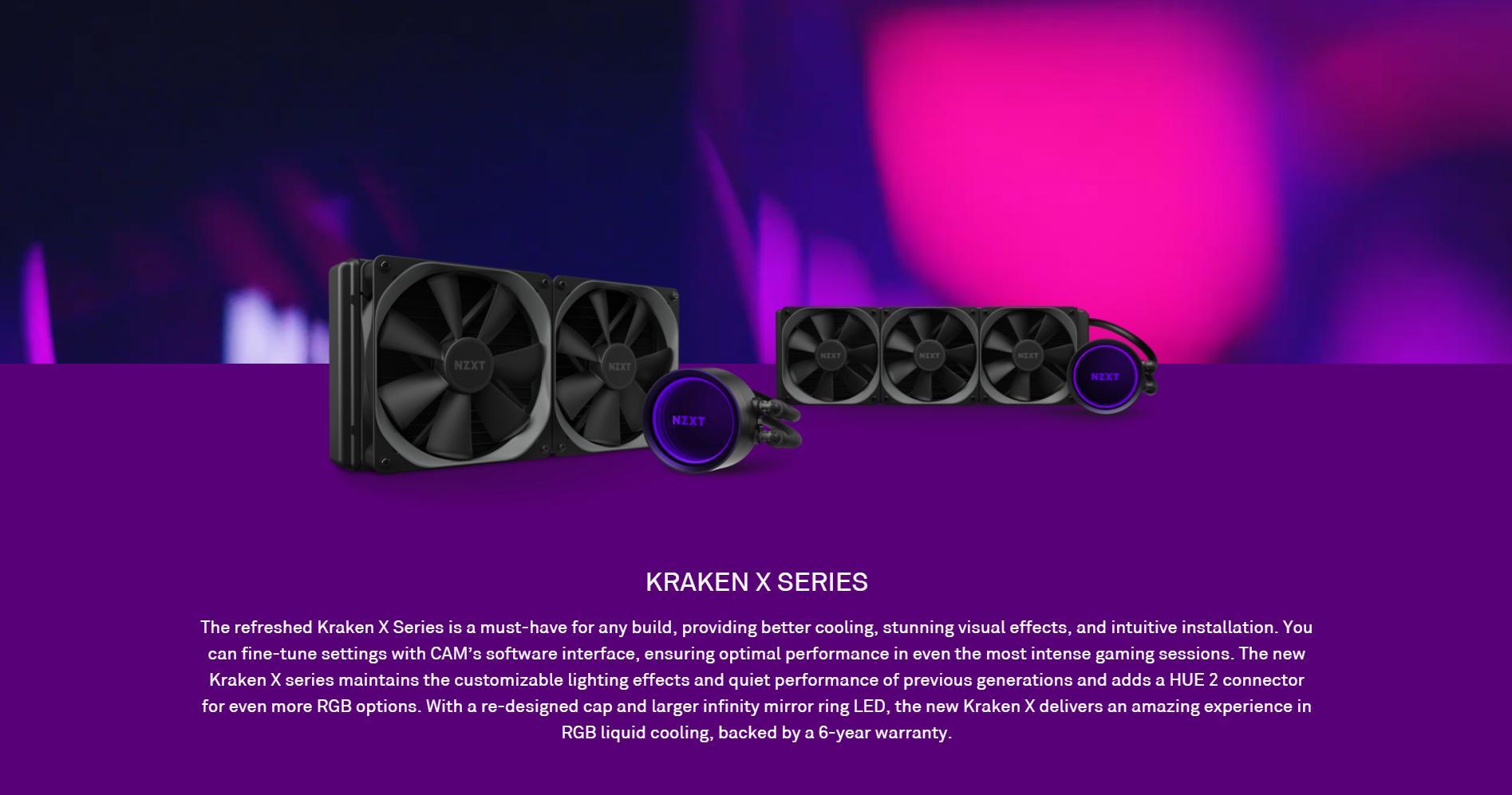 Giới thiệu Tản nhiệt nước CPU NZXT Kraken X53