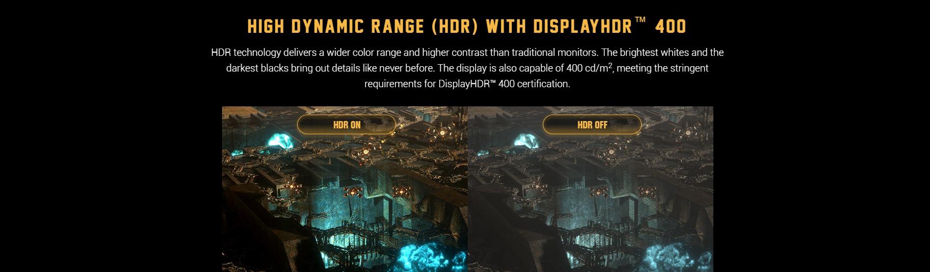Màn hình Asus VG279QM HDR