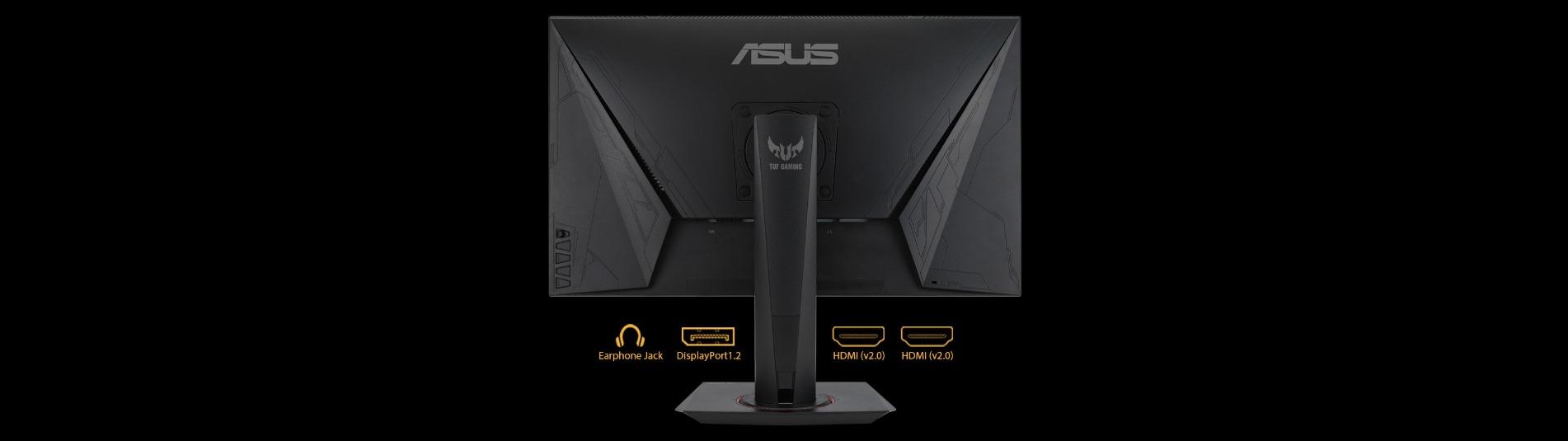Màn hình Asus VG279QM kết nối phong phú