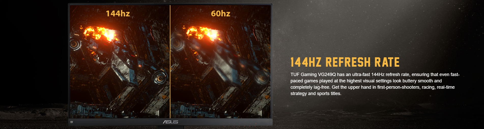 Màn hình ASUS TUF GAMING VG249Q 144hz